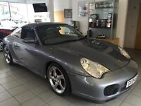 PORSCHE 911 3.6 CARRERA 4 S WIDE BODY 2d 316 BHP (grey) 2004