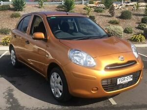 2012 Nissan Micra K13 ST-L Gold 4 Speed Automatic Hatchback Lisarow Gosford Area Preview