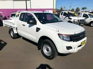 2015 Ford Ranger PX MkII XL 3.2 (4x4) White 6 Speed Manual Super Cab Chassis Dubbo Dubbo Area Preview