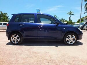 2003 Mazda 2 DY10Y1 Maxx Blue 4 Speed Automatic Hatchback Rosslea Townsville City Preview