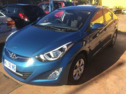 2015 Hyundai Elantra Blue 6 Speed Automatic Sedan North Hobart Hobart City Preview