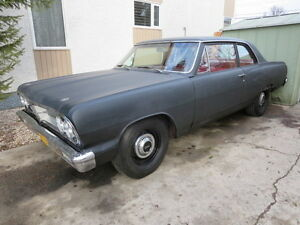 1964 ACADIAN BEAUMONT 2dr POST SEDAN PROJECT RUNS & YARD DRIVES