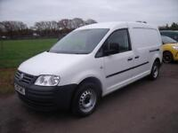 VOLKSWAGEN CADDY MAXI C20 LWB TDI 104 White Manual Diesel, 2010