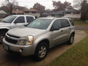 As is- 2007 Chevy Equinox