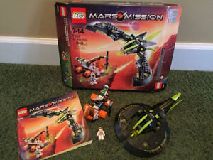 Lego mars mission Alien strike