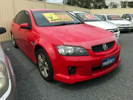 2007 Holden Commodore VE SV6 Red 5 Speed Sports Automatic Sedan Underwood Logan Area Preview