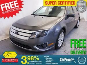 2012 Ford Fusion SEL *Warranty* $97.21 Bi-Weekly OAC