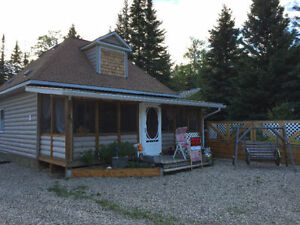 Candle Lake:  one-of-a-kind cabin for sale