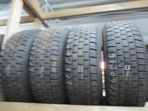 215/60R16 SET OF 4 MATCHING USED HERCULES A/S TIRES