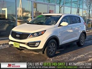 2015 Kia Sportage LX | Heated Seats, Bluetooth, Cruise