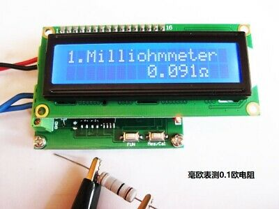 Milliohm Meter Low Resistance Tester Ohmmeter 0.001 120 10pf 20000uf