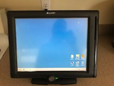 Par M8150-02 Pos 15 Touchscreen Intel Atom N270 1.6ghz Point Of Sale Terminal