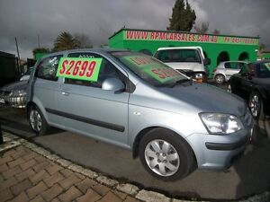 2005 Hyundai Getz TB MY05 GL 5 Speed Manual Nailsworth Prospect Area Preview
