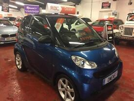2007 (57) SMART FORTWO COUPE 1.0 PULSE 2DR Automatic