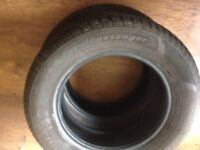 x2 car tyres for sale, 195/65 R15 almost new