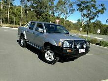 2008 Nissan Navara D22 ST-R Silver 5 Speed Manual Dual Cab Arundel Gold Coast City Preview