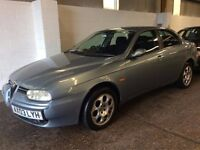 2003 ALFA ROMEO 156 1.9 JTD DIESEL MANUAL SALOON GOOD DRIVE CHEAP CAR SPACIOUS NOT 147 159 ASTRA