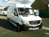 Mercedes-Benz Sprinter 313 CDI LWB 3.5T HIGH ROOF VAN DIESEL MANUAL (2014)