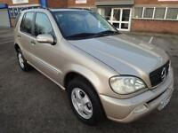LHD 2003 Mercedes ML 270 4x4 Automatic Diesel 5Door. SPANISH REGISTERED