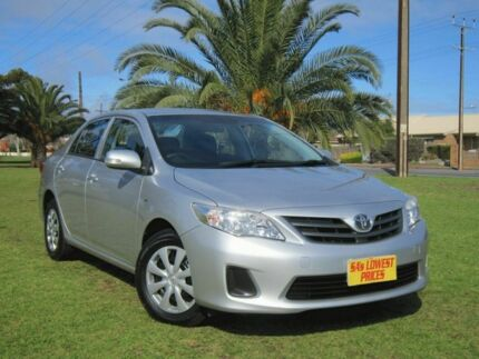 2011 Toyota Corolla ZRE152R MY11 Ascent Silver 4 Speed Automatic Sedan Hendon Charles Sturt Area Preview