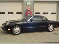 2002 Ford Thunderbird DELUXE w/ Removable Hardtop