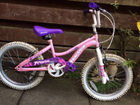 Girls Mountain Bike, Age 4-6, BARGAIN!!!!