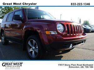 """2017 Jeep Patriot HIGH ALTITUDE 4X4**ULTRA LOW KMS**6.5\"""" TOUCHS"""
