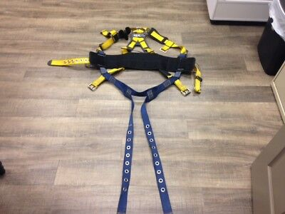 Dbi Sala Varies Vest Style Full Body Safety Harness Lg