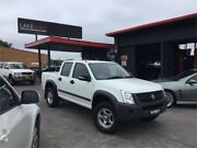2008 Holden Rodeo RA MY08 LX White 4 Speed Automatic Crew Cab Pickup Boolaroo Lake Macquarie Area Preview
