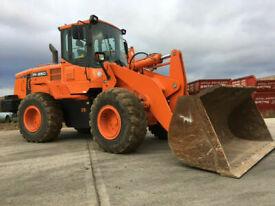 2013 Doosan DL250, with Loading Shovel. 3000hrs only, GP bucket,
