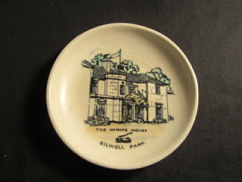 The White House Gilwell Park Ceramic 4 1/2 Inch Saucer     bs2