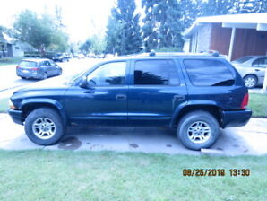 ESTATE SALE ----- 2002 DODGE DURANGO SUV 4X4