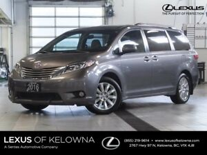 2016 Toyota Sienna XLE AWD w/Winter Tires and Navigation