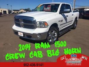 2014 Ram 1500 Big Horn Crew Cab, HEMI, Back up Camera