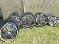 articles de velo : roues, pneu...