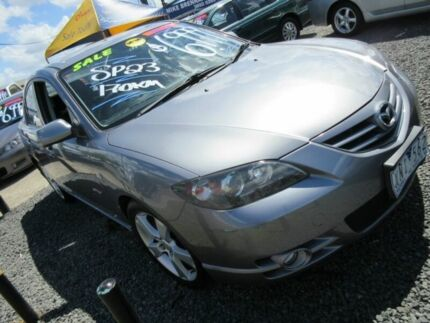 2004 Mazda 3 BK1031 SP23 Grey 5 Speed Manual Sedan Yeerongpilly Brisbane South West Preview