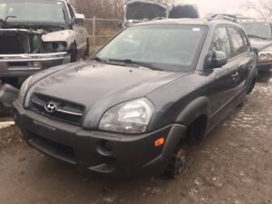 2007 Hyundai Tucson just in for parts at Pic N Save!