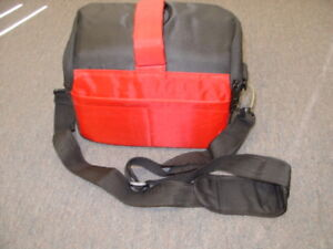New Red Black Professional Camera Carrying Case Bag