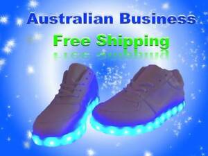 LED Glowing Shoes unisex Southport Gold Coast City Preview