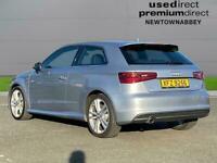 2015 Audi A3 1.6 Tdi 110 S Line 3Dr S Tronic Auto Hatchback Diesel Automatic