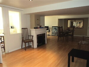 3rd person/3 bedroom furnished downtown basement suite house