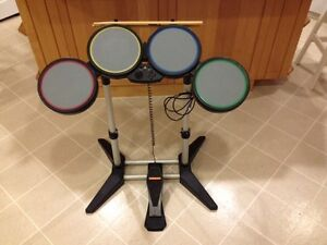 Rock Band and Dance Dance Revolution with PS 2 bundle