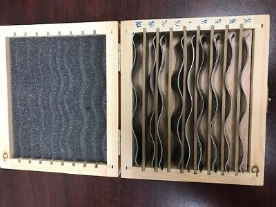 #703C-755 3//16 /& 1//2 thick steel parallel set 4 pairs//set 0.0002 accur
