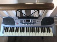 Finetune 54 key keyboard with stand