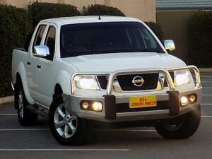 2011 Nissan Navara D40 S6 MY12 ST-X 550 White 7 Speed Sports Automatic Utility Blair Athol Port Adelaide Area Preview