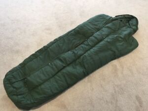 Genuine British Army Surplus Mk2 Arctic Feather & Down Sleeping Bag