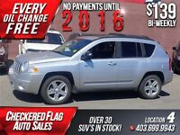 2010 Jeep Compass 4x4-SPORT-S.ROOF-CAR/STARTER-67000KM