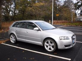 Audi A3 Special Edition Sportback 5DR 1.9TDI, 11 months MOT