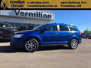 2015 Dodge Journey R/T, AWD, Heated Leather