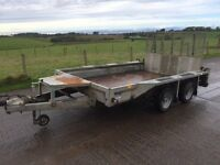 Used Ifor Williams GX106 Plant Trailer